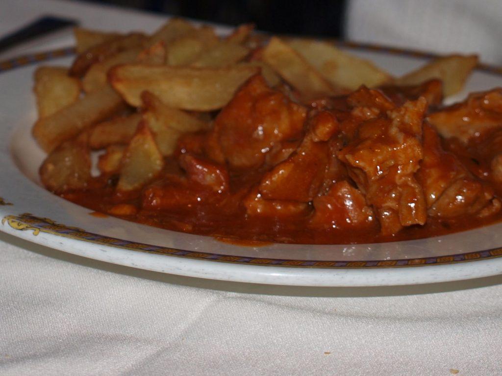 Carcamusas Toledanas del Restaurante Ludeña