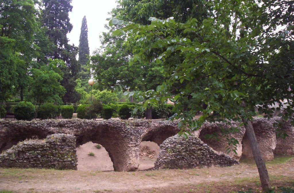 Anfiteatro romano en Toledo España