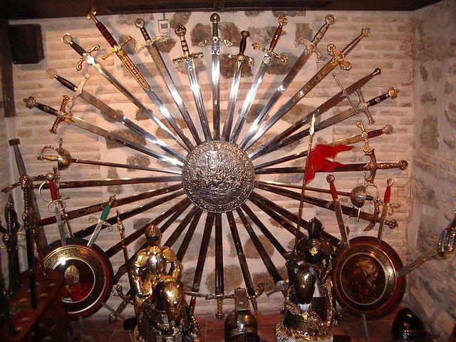 La tienda de espadas de Toledo